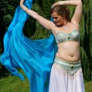 Strój do tańca brzucha